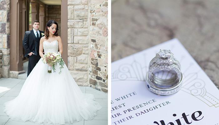Old Hollywood Wedding Inspiration Engagement Ring