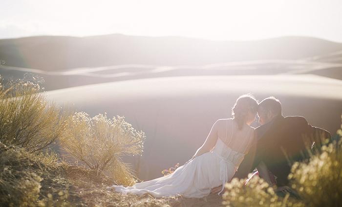 Sand Dunes Boho Wedding