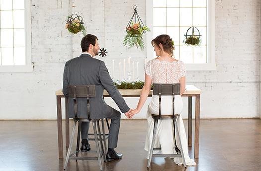 Industrial Denver Wedding
