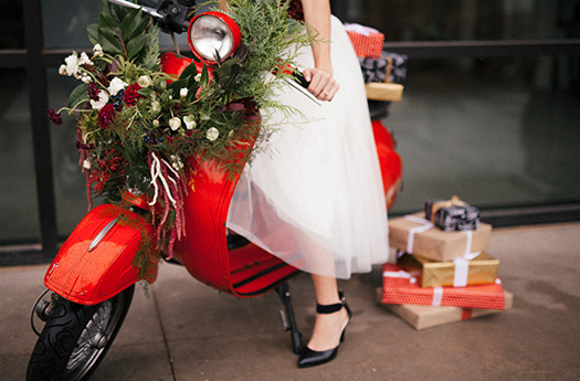 Holiday Scooter Presents