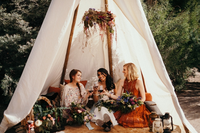 Boho wedding inspiration shoot whimsy design studio boho wedding inspiration shoot junglespirit Choice Image