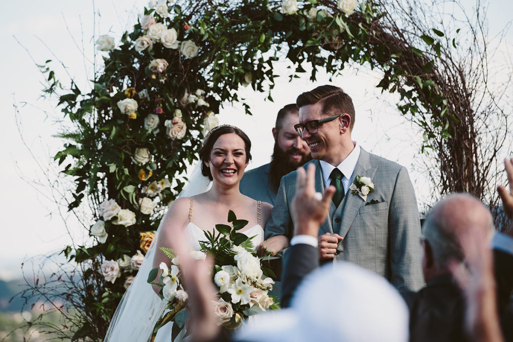 greenery denver wedding