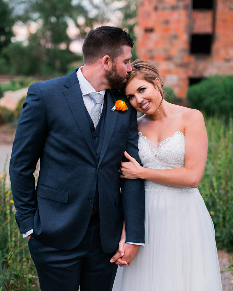 colorful farm wedding littleton colorado