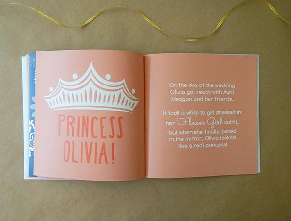 Custom Flower Girl Book