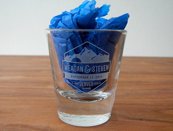 Custom Etched Shot Glass