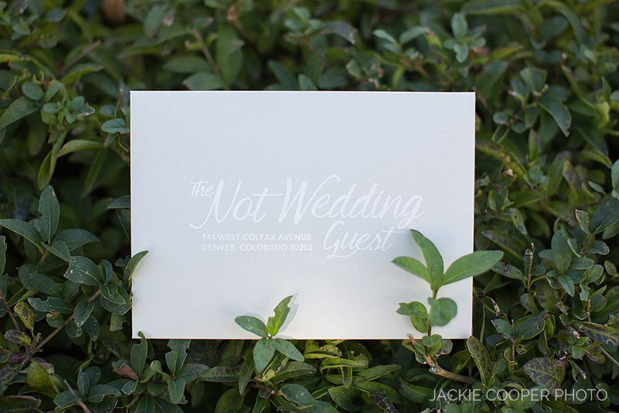 NotWedding Denver Envelope