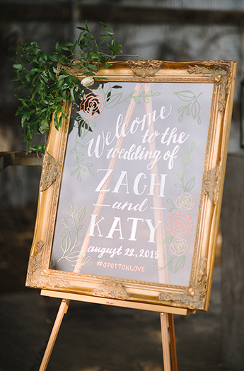 Romantic Hand Lettered Signage Denver Whimsy Design Studio