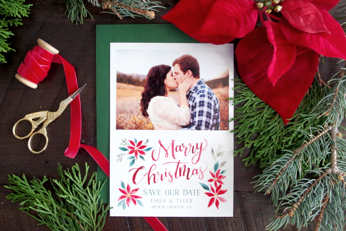 Newlywed Christmas Card