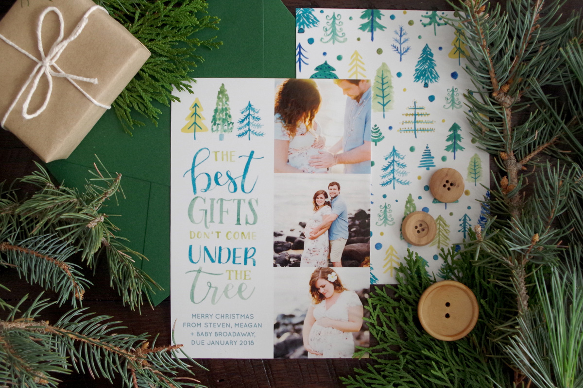 Maternity Christmas Card